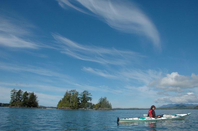 22 août 2010 – Île de Vancouver – Tofino – Kayak de mer